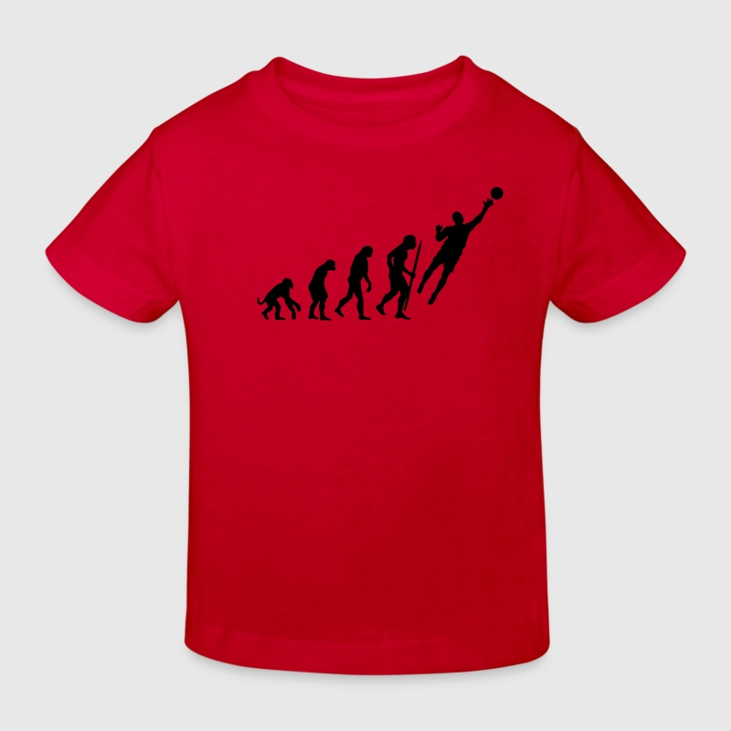 Evolution Goalkeeper Soccer Shirts - Kids' Organic T-shirt