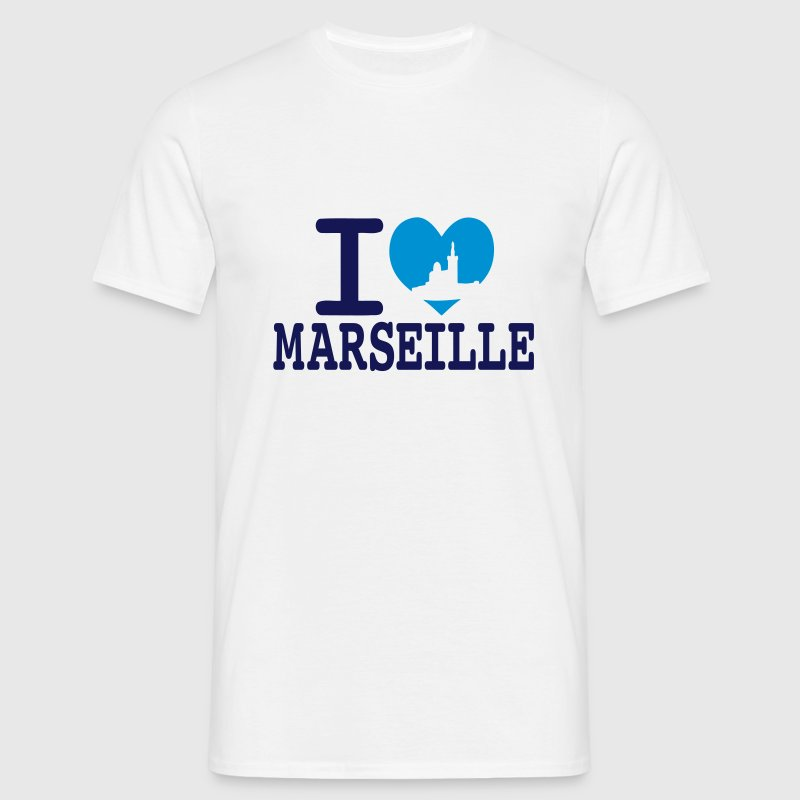I love Marseille Tee shirts - T-shirt Homme