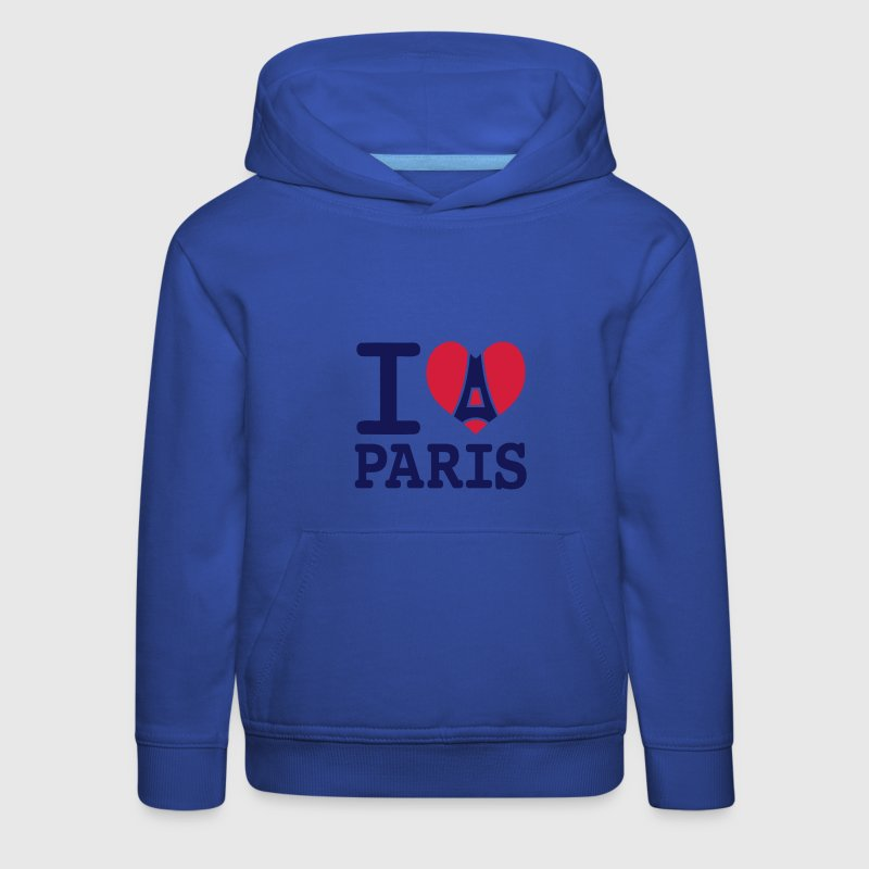 I love Paris Sweats - Pull à capuche Premium Enfant