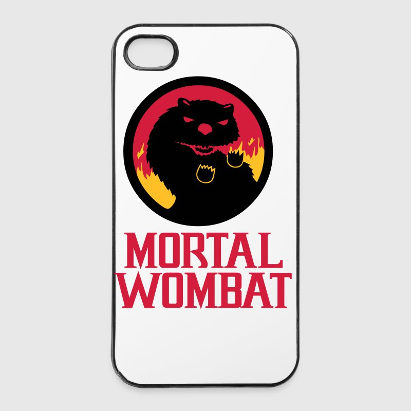 Funny Mortal Wombat I-Phone case - iPhone 4/4s Hard Case