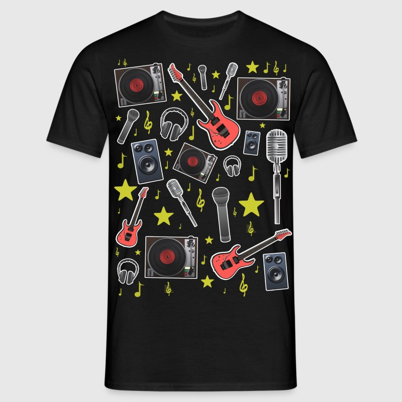 music theme T-Shirts - Men's T-Shirt