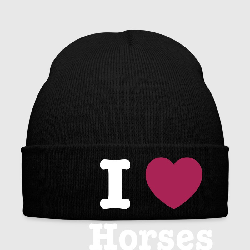 I love Horses Hat - Winter Hat