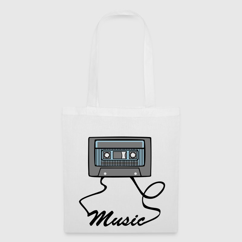 vintage Cassette love music Bags  - Tote Bag
