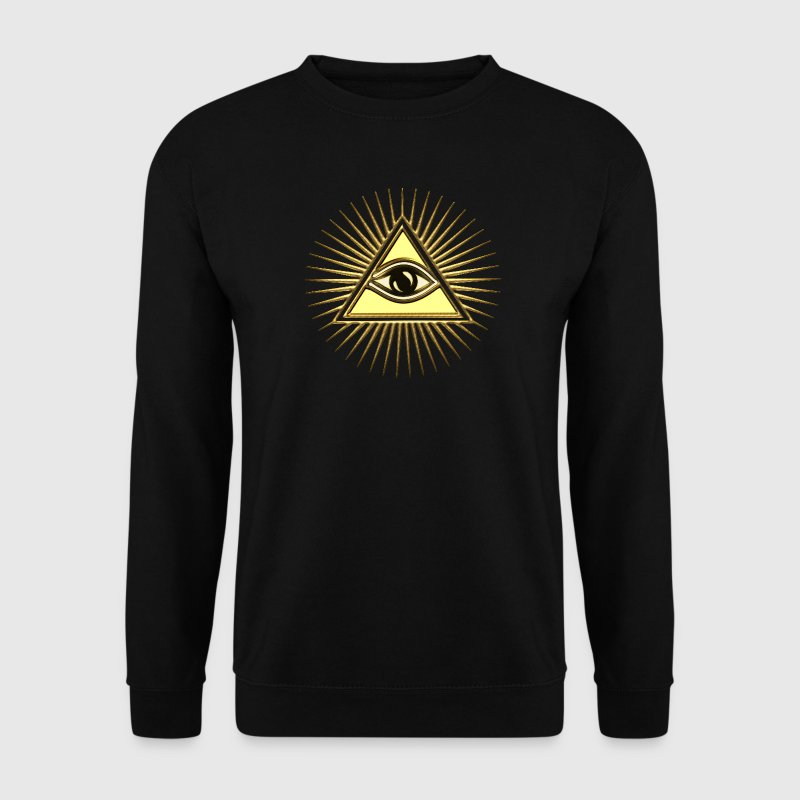 Pyramid Eye - symbol consciousness & divinity. Hoodies & Sweatshirts - Men's Sweatshirt