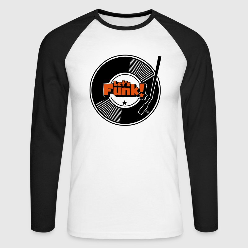 Let's Funk Wax Long sleeve shirts - Men's Long Sleeve Baseball T-Shirt