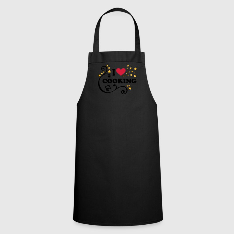 I love Cooking Chef´s hat Cook Chef I heart  Aprons - Cooking Apron