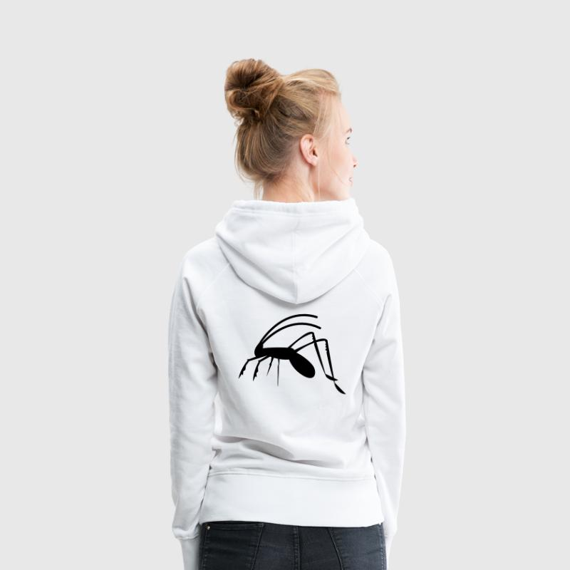 grasshopper weta cricket insect antennae creepy! Hoodies & Sweatshirts - Women's Premium Hoodie