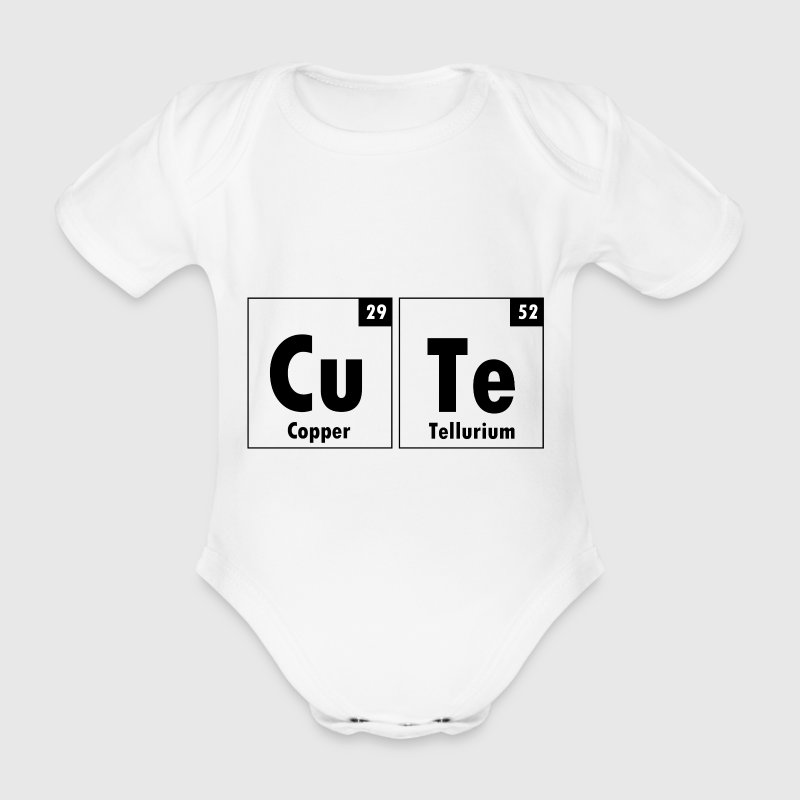 Cute Element Baby Onesie - Organic Short-sleeved Baby Bodysuit