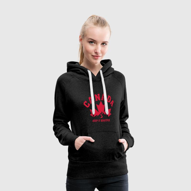 CANADA KEEP IT BEAUTIFUL Pullover & Hoodies - Frauen Premium Hoodie