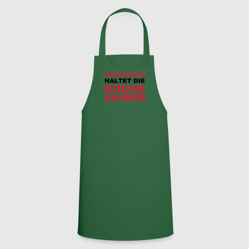 Comrades keep the kitchen clean - Cooking Apron