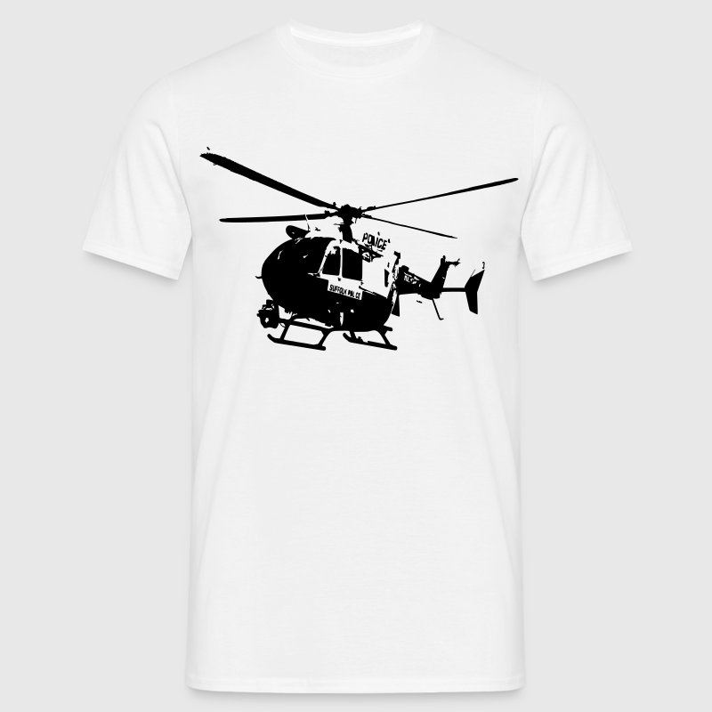 Police helicopters EC145 T-Shirts - Men's T-Shirt