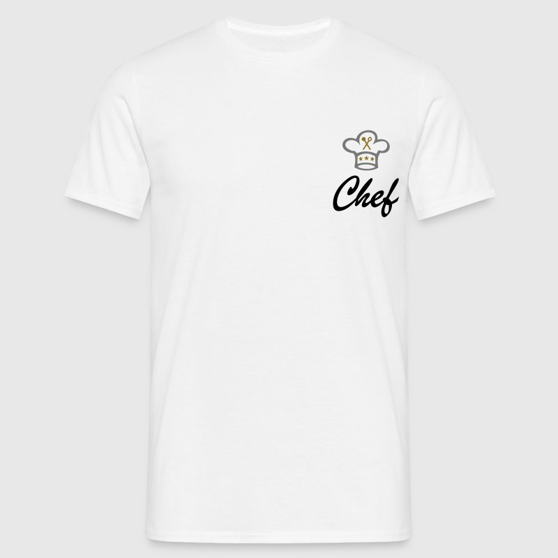 Chef´s hat. Chef, cook, cooking T-Shirts - Men's T-Shirt