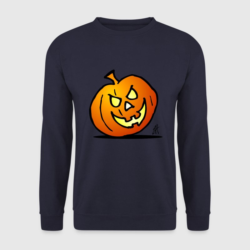 Jack-o'-lantern, citrouille d'Halloween Sweat-shirts - Sweat-shirt Homme