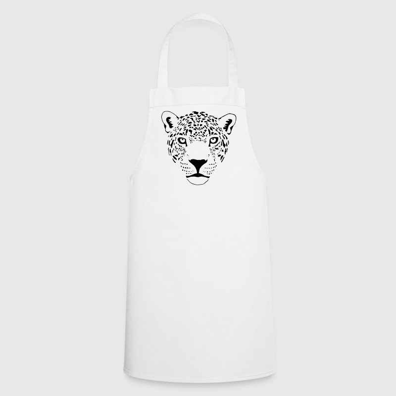 cougar cat  panther leopard cheetah  Aprons - Cooking Apron