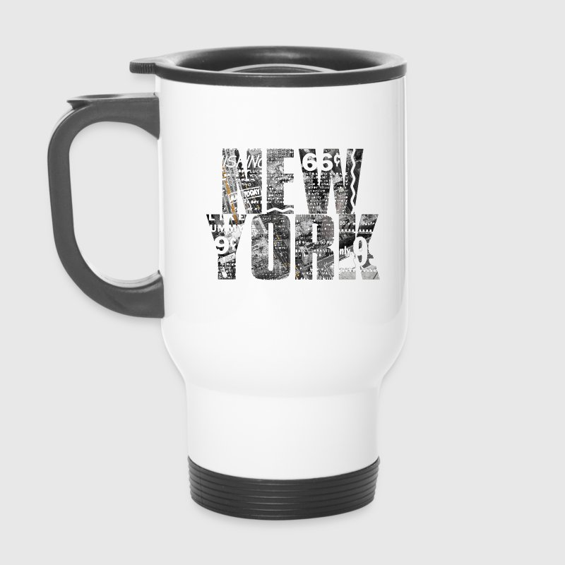 New york.png Bouteilles et tasses - Mug thermos