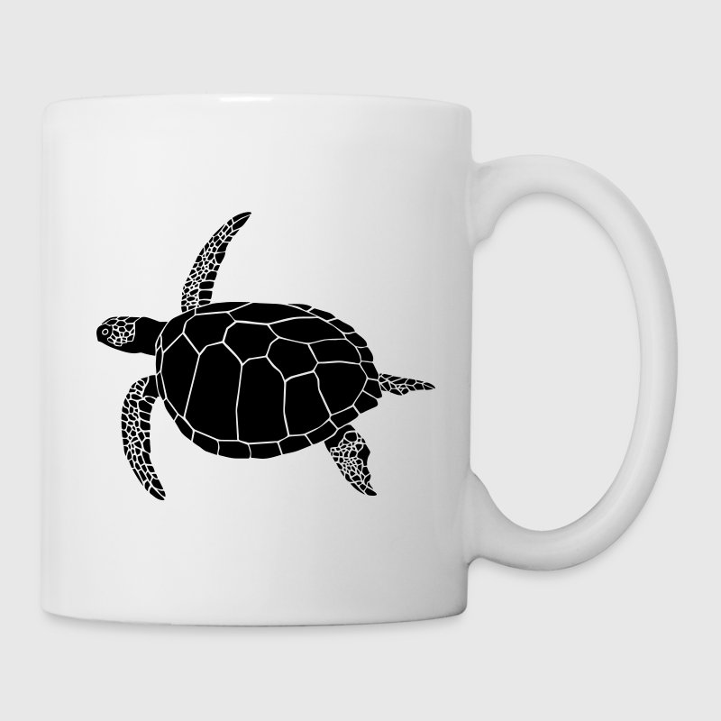 sea turtle ocean endangered species scuba diving Bottles & Mugs - Mug