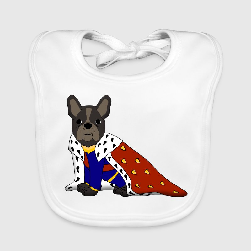 King French Bulldog Accessories - Baby Organic Bib