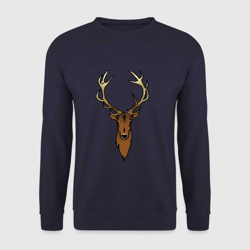 Cerf Sweat-shirts - Sweat-shirt Homme