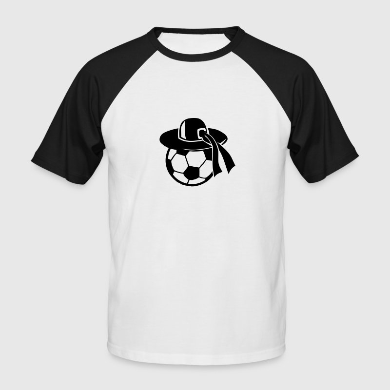 ballon football chapeau breton 1110 Tee shirts - T-shirt baseball manches courtes Homme