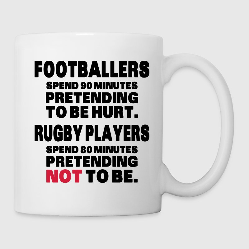 Footballers Pretend to Be Hurt Bottles & Mugs - Mug