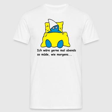 suchbegriff 39 m de schlafen 39 t shirts online bestellen spreadshirt. Black Bedroom Furniture Sets. Home Design Ideas