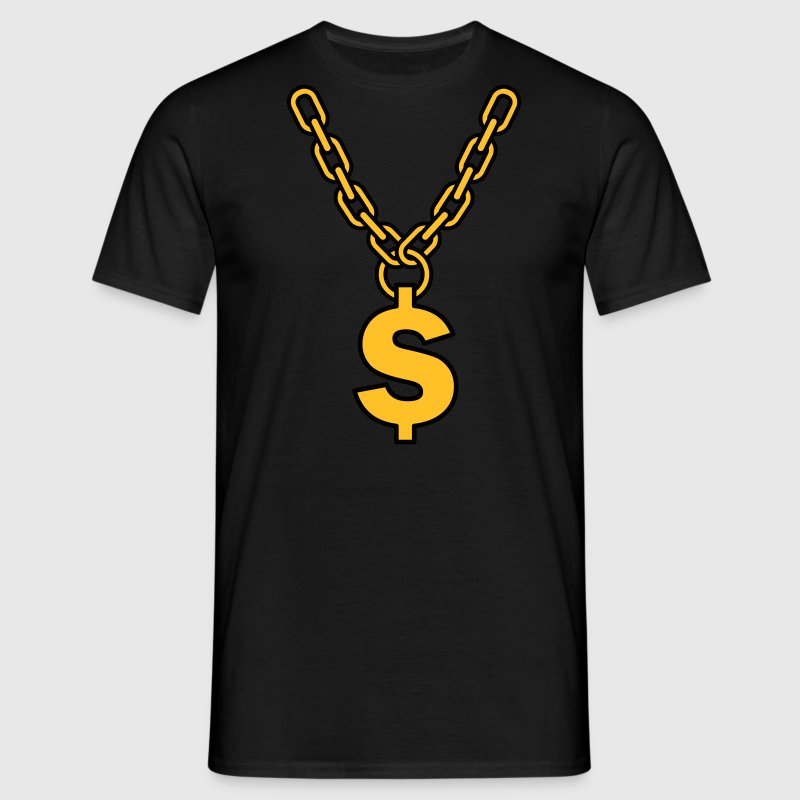 dollar chain  T-Shirts - Men's T-Shirt