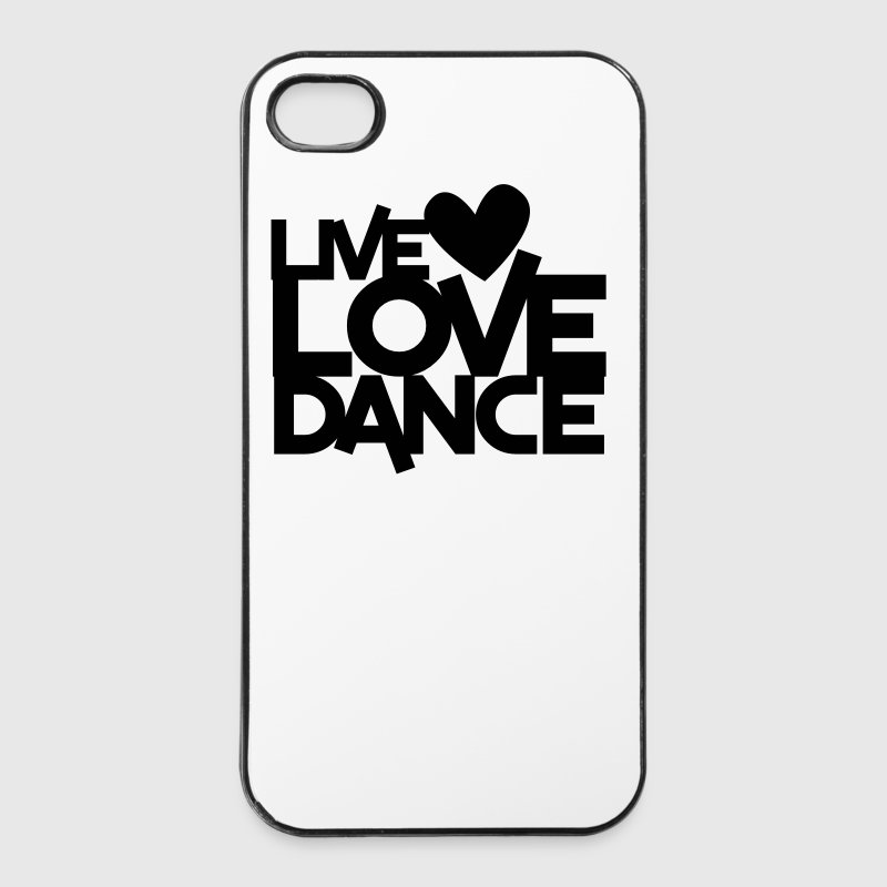 LIVE LOVE DANCE design dancer dancing fitness Other - iPhone 4/4s Hard Case