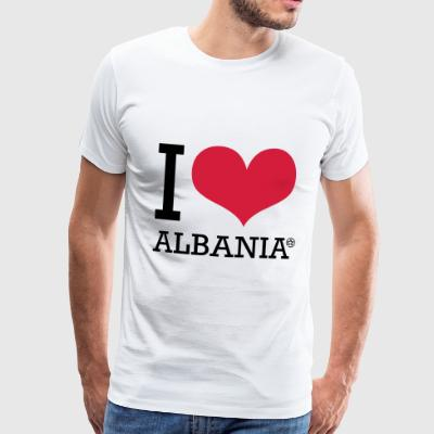I LOVE ALBANIA - Men's Premium T-Shirt