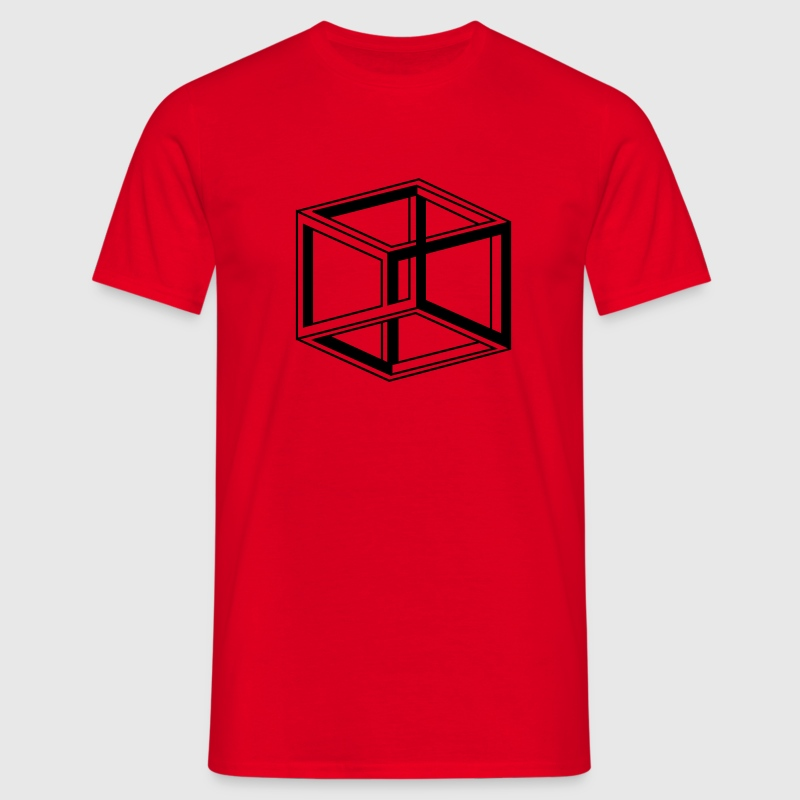 cube escher T-Shirts - Men's T-Shirt