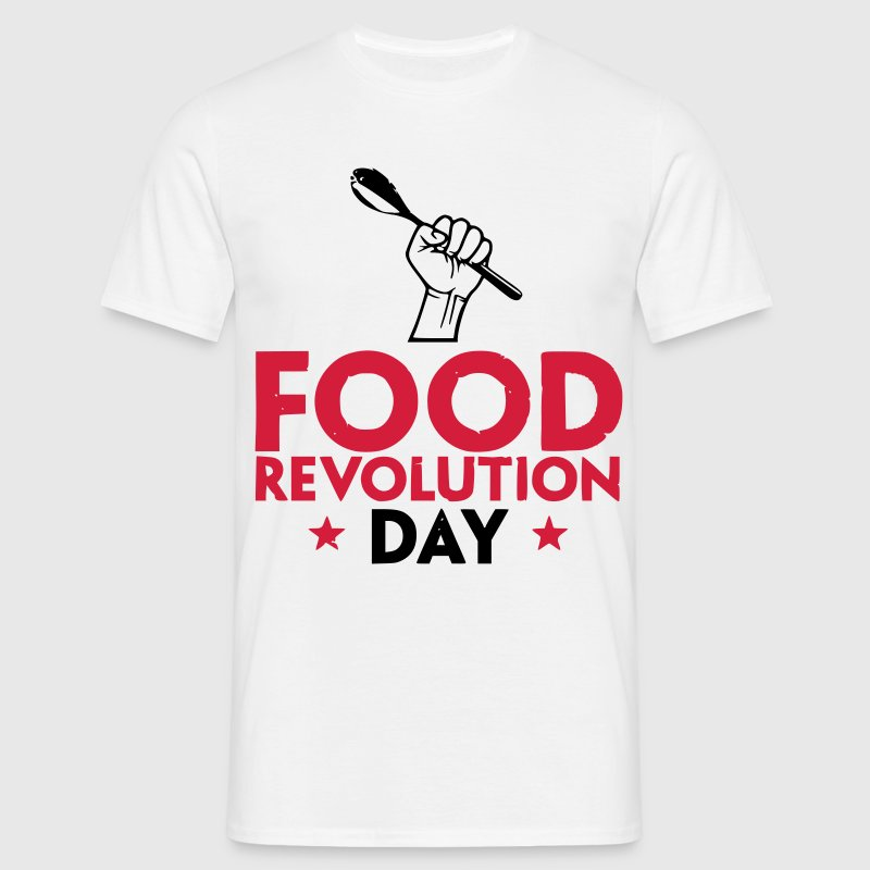 Food Revolution Day - Men's T-Shirt