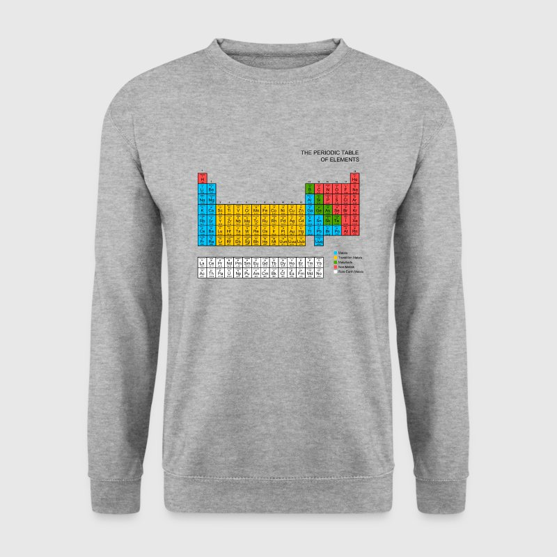 Periodic Table of elements Hoodies & Sweatshirts - Men's Sweatshirt