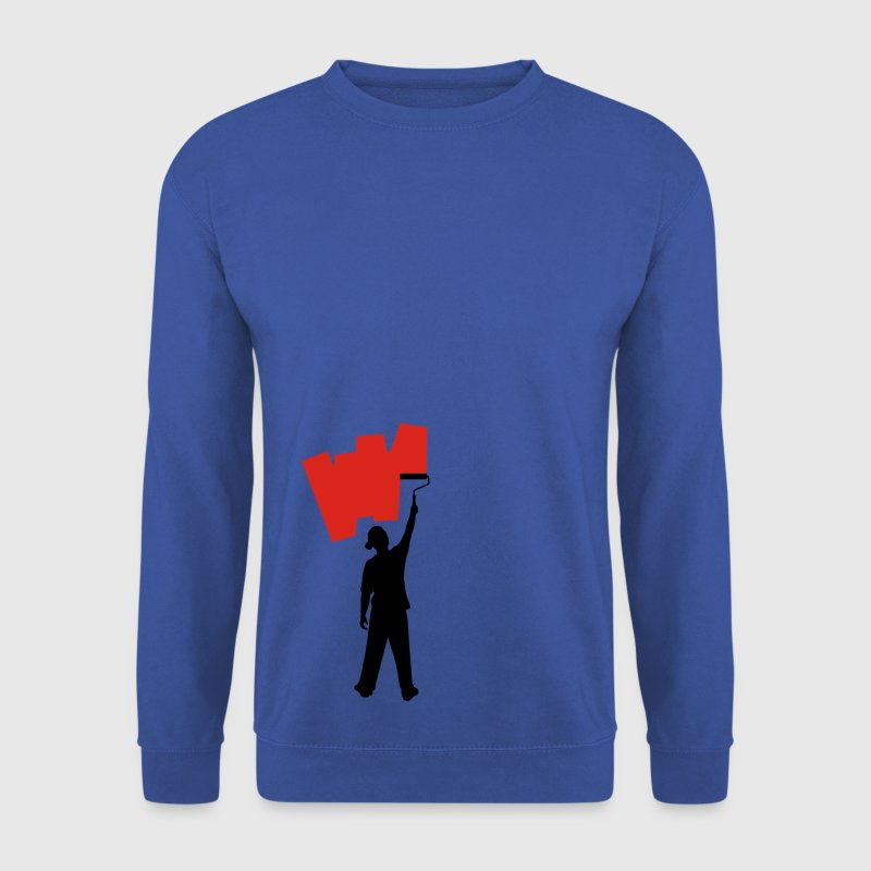 Red Shirt painter Jumpers - Men's Sweatshirt