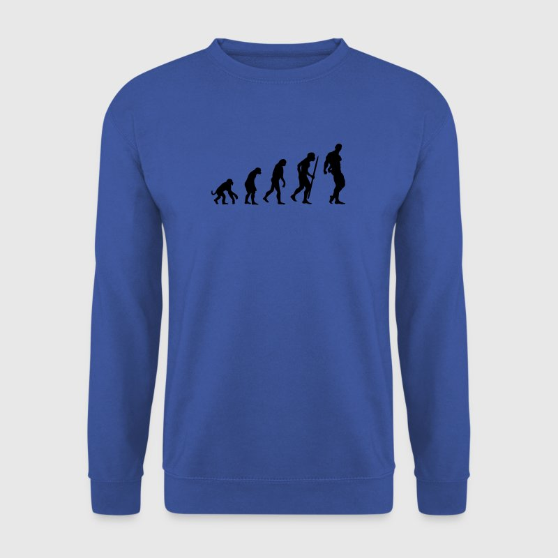Red Evolution of Bodybuilding Jumpers - Men's Sweatshirt
