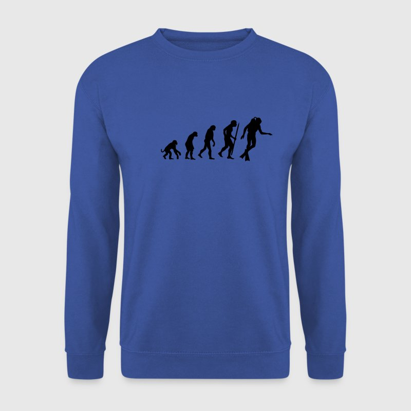 Red Evolution of Scuba diving Jumpers - Men's Sweatshirt