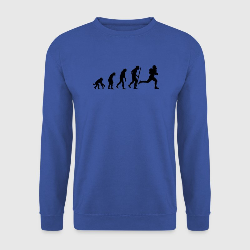 Red Evolution of American Football Jumpers - Men's Sweatshirt