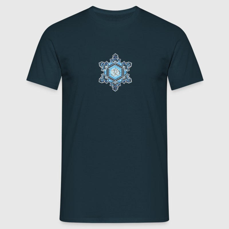 Water Crystal - Thank You / Gratitude / OM / Emoto T-Shirts - Men's T-Shirt