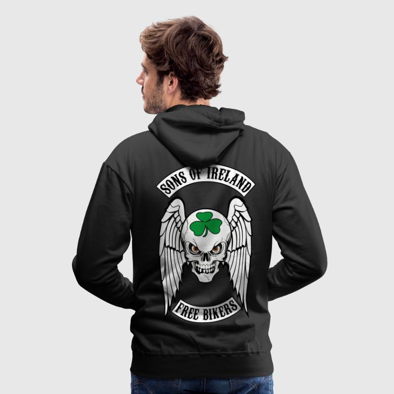 bikers - sons of ireland Hoodies & Sweatshirts - Men's Premium Hoodie