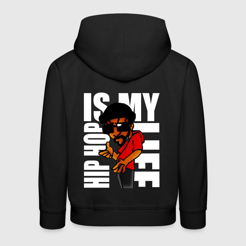 hip hop is my life Pullover & Hoodies - Kinder Premium Hoodie
