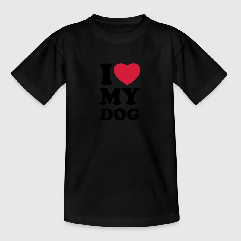 I love my dog Shirts - Camiseta niño