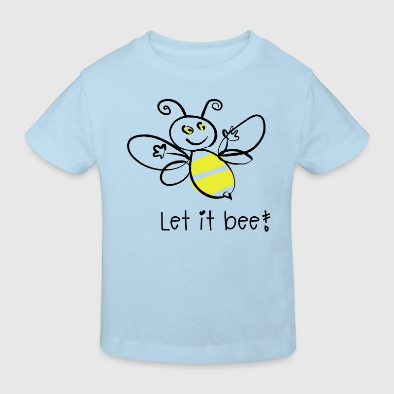 Let it bee! - Kinder Bio-T-Shirt