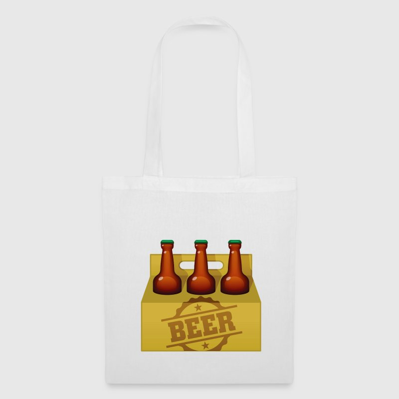 Beer Case Six Pack (dd)++2012 bolsas - Bolsa de tela