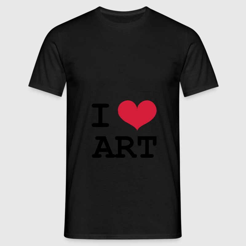 I Love ART ! T-Shirts - Men's T-Shirt