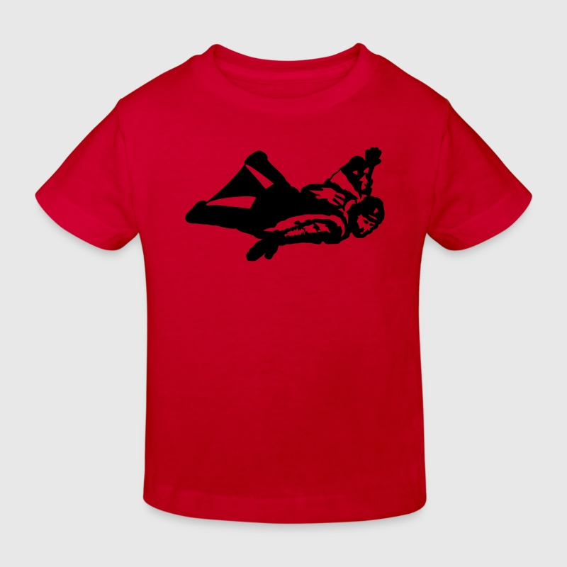 Skydiving - Wingsuit T-Shirts - Kinder Bio-T-Shirt