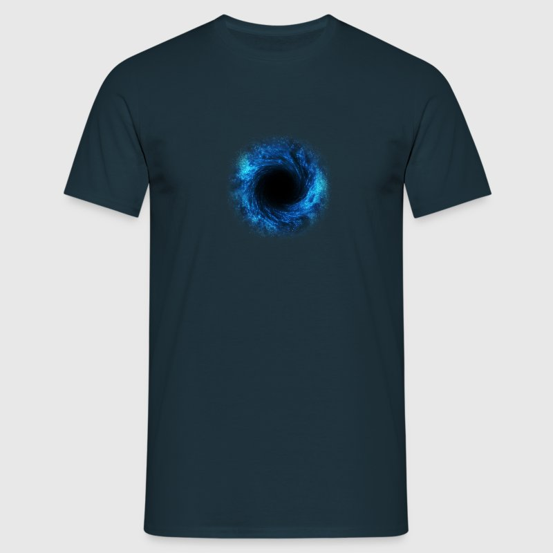 black hole - connection to the source, DD / T-shirts - T-shirt herr