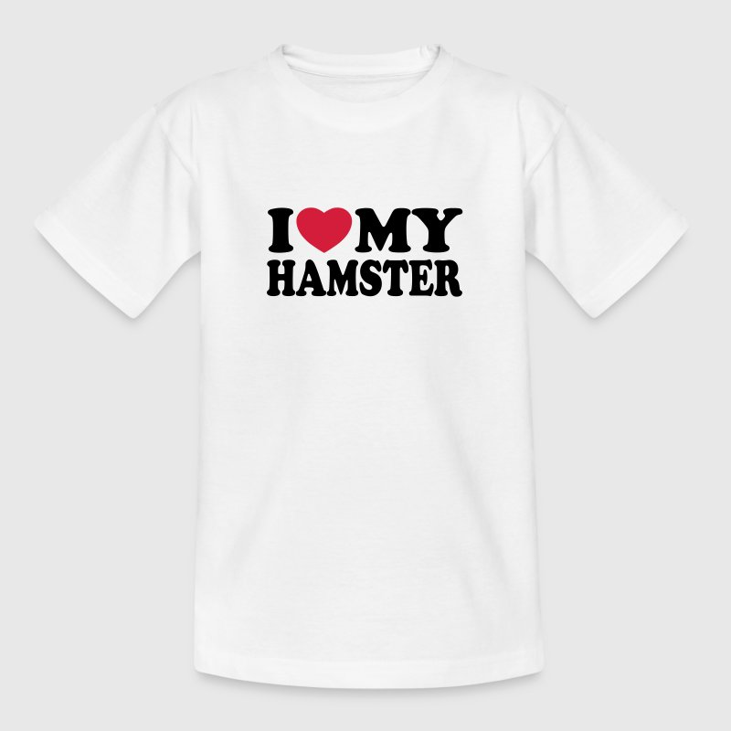 I love my hamster Shirts - T-shirt Enfant