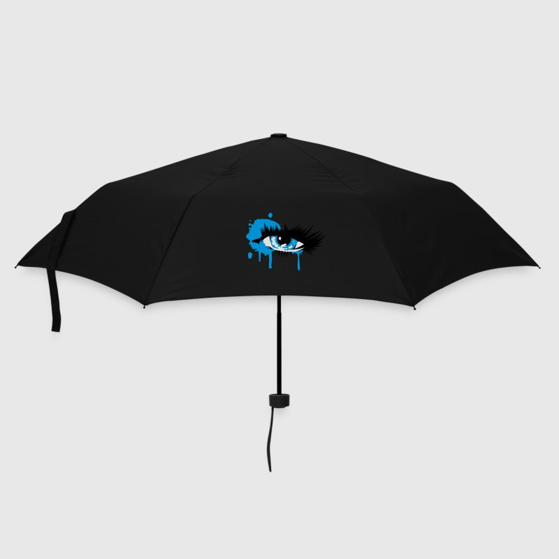 A colored eye with long eyelashes Umbrellas - Umbrella (small)