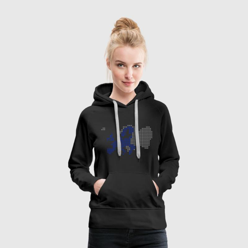 Black EU - European Union Hoodies & Sweatshirts - Women's Premium Hoodie