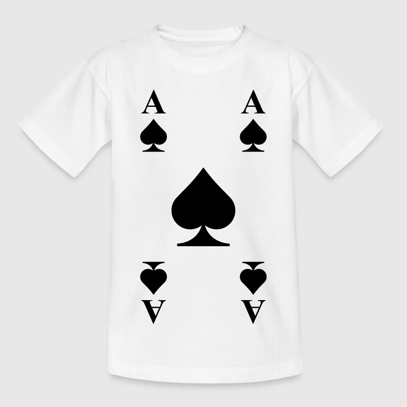 Ace of spades  Shirts - Kids' T-Shirt