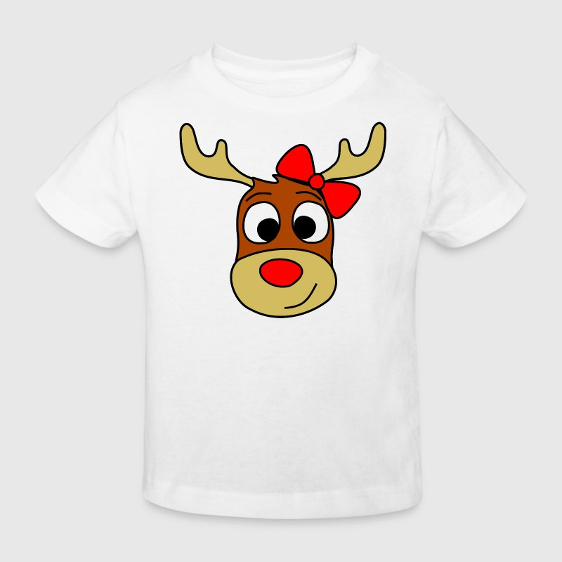 renntier female Shirts - Kids' Organic T-shirt