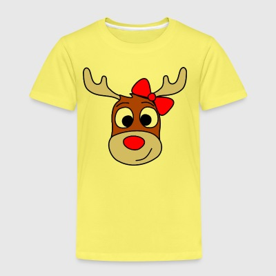 renntier female Shirts - Kids' Premium T-Shirt
